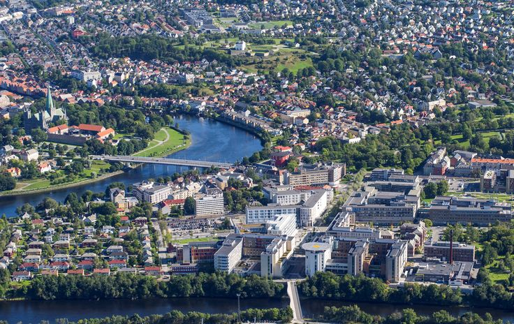 Over 187,353 people are in Trondheim, Norway.