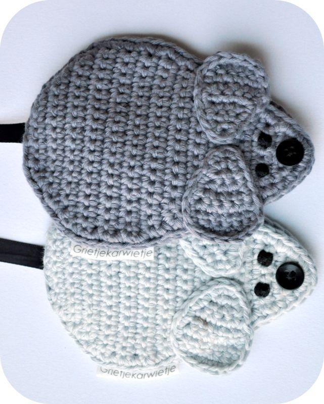 Grietjekarwietje: Twee speenketting muisjes