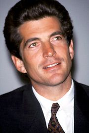 John Kennedy Jr ; The very best of his parents, the ambition to be his own man, all that hope in one person. Joy, Humor,  those dark good looks... The perfect man?