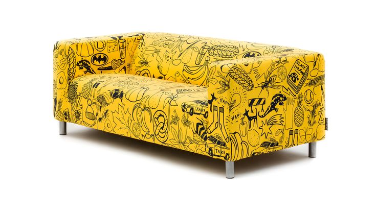 ARTEFLY Ikea Klippan YELLOW cover
