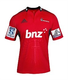 Crusaders Home Jersey Short Sleeve 2013