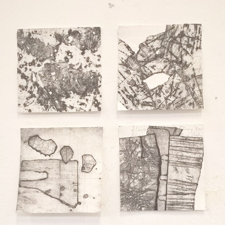 Collagraphs prints . Dallas Perry