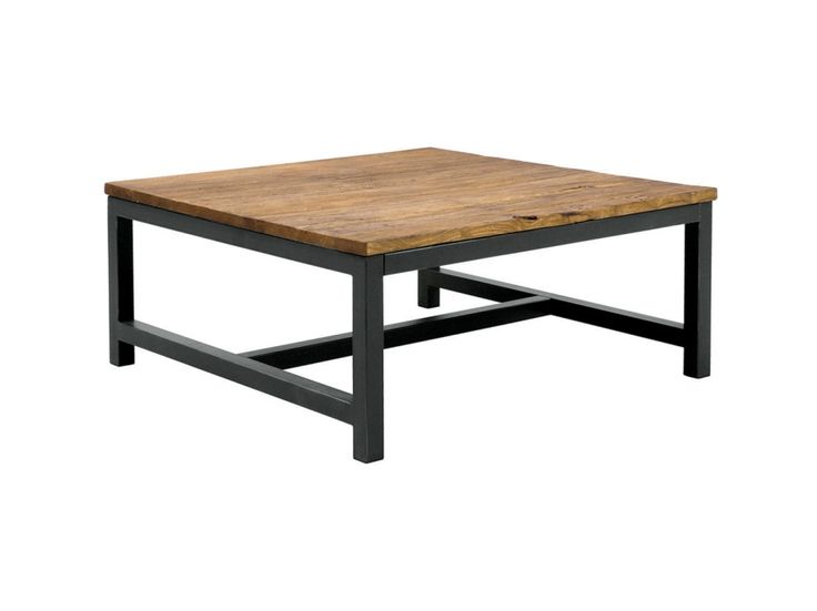 EPOQUE Soffbord 90 Natur/Svart i gruppen Inomhus / Bord / Soffbord hos Furniturebox (100-35-64738)