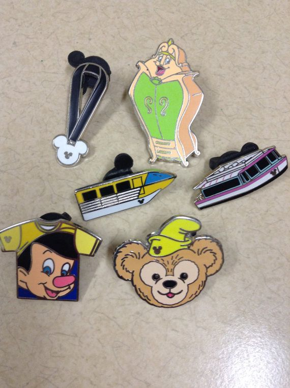 Add on Disney trading pins for your vacation lanyard purchase