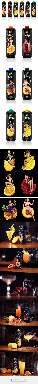Life Easy Juice packaging designed by spoondesign - http://www.packagingoftheworld.com/2015/09/life-easy.html