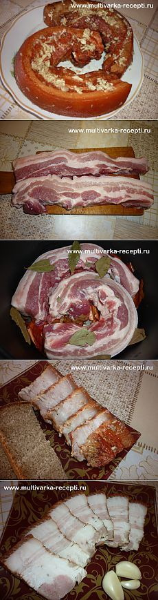 Как приготовить сало в луковой шелухе. Очень вкусное сало в мультиварке |