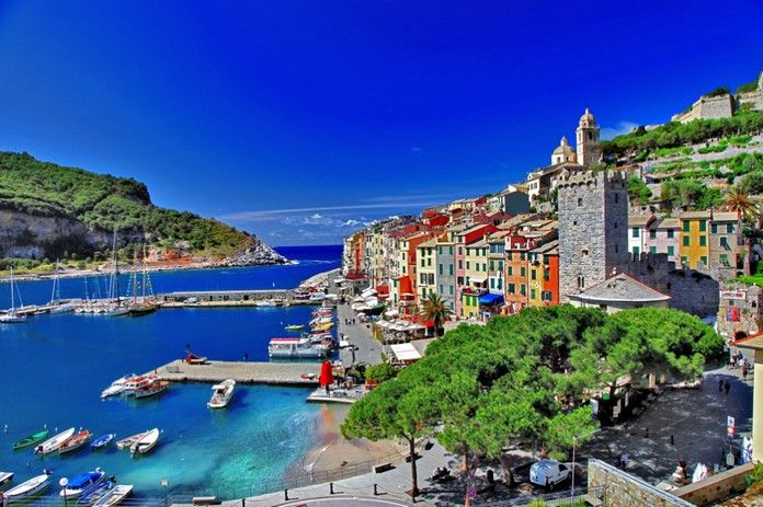 Porto Venere is an Italian small yet absolutely stunning town. Its unique beauty and historic heritage are protected by UNESCO organization!