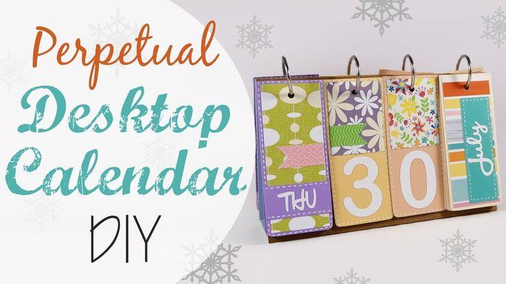 Tuto: Calendario Perpetuo da tavolo - ENG SUBS Perpetual Desktop Calenda...