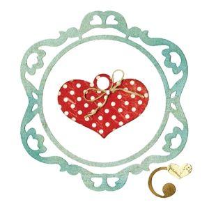 Sizzix Thinlits Die Set 3PK - Frame, Ornamental Love €19,09