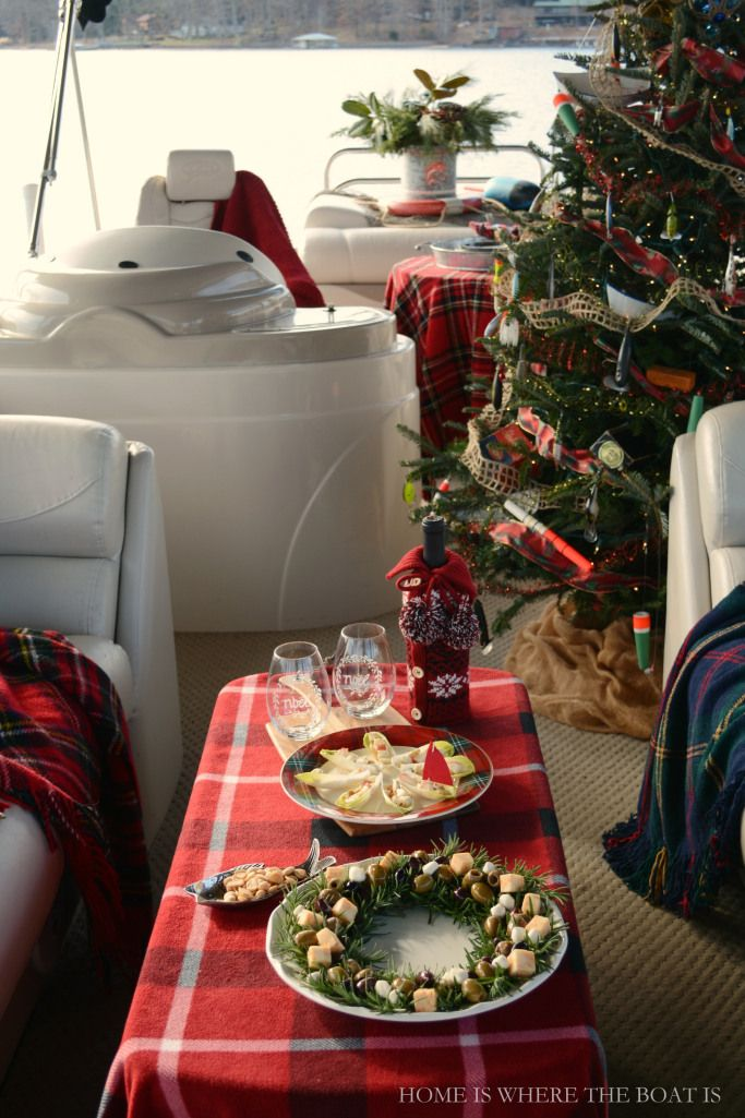 A Christmas Cruise on the S. S. Noel, aka, pontoon boat | Home is Where the Boat Is