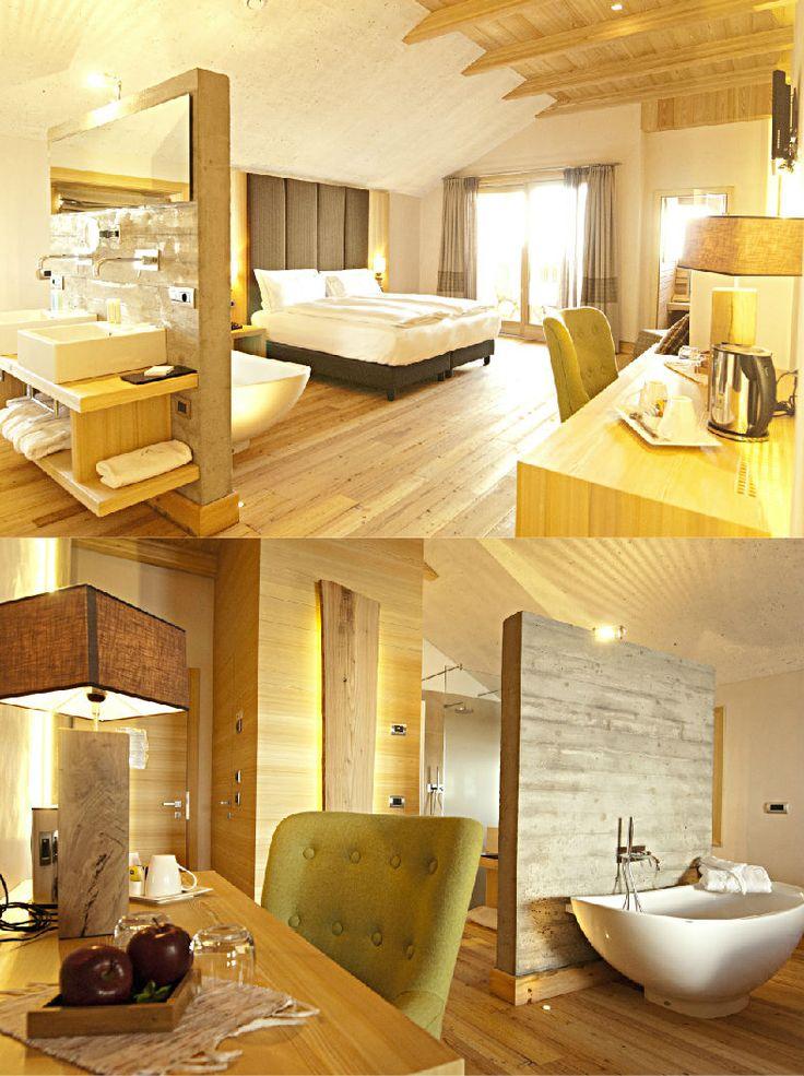 Hotel Larice | Boutique Hotel | Italy | http://lifestylehotels.net/en/hotel-larice-suite-breakfast | room, design, alpine style, cosy, wood