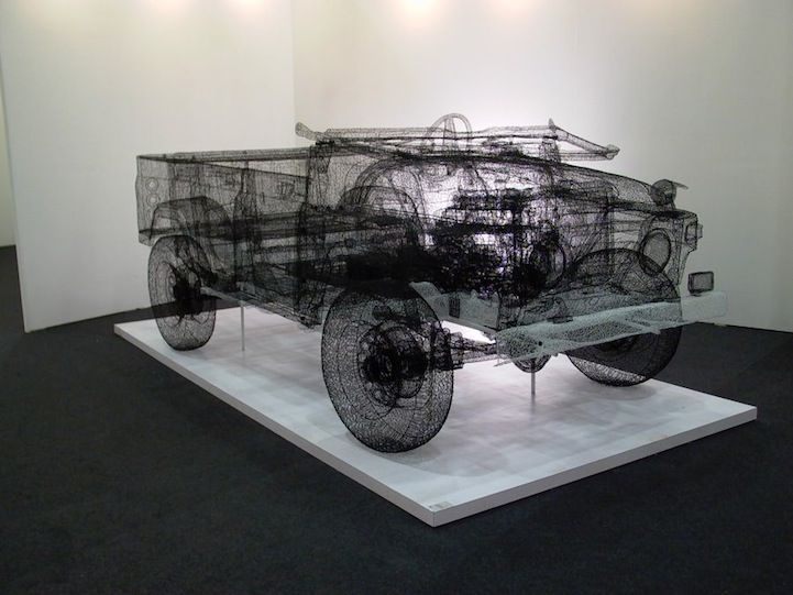 Real world 3D wireframe