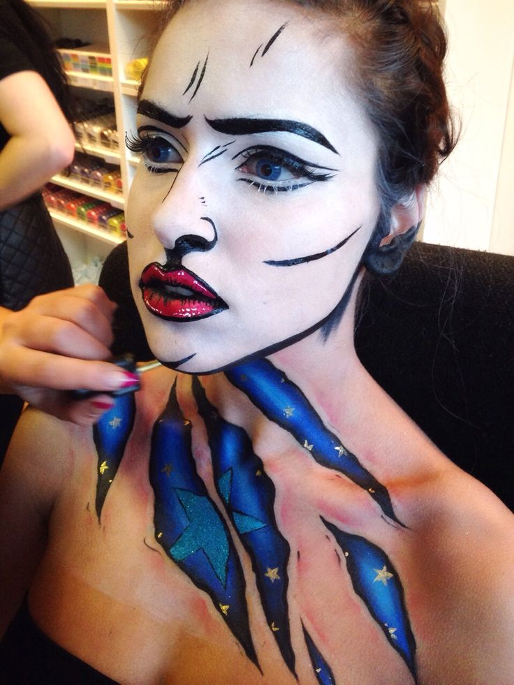By Karla Powell ... Pop Art Makeup