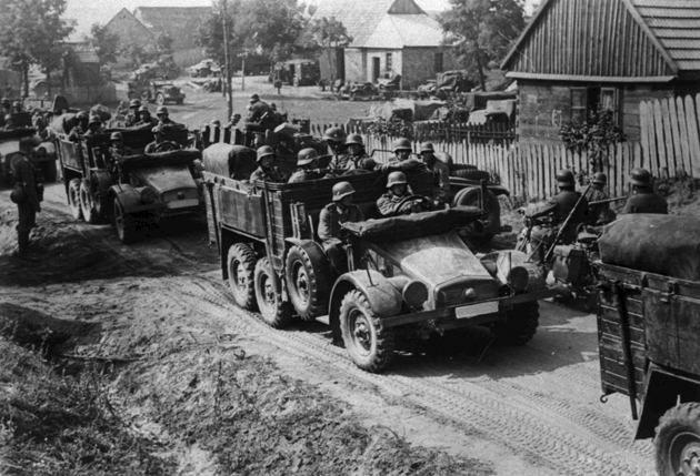 Kfz.70 - Configuración estándar para transporte de tropas