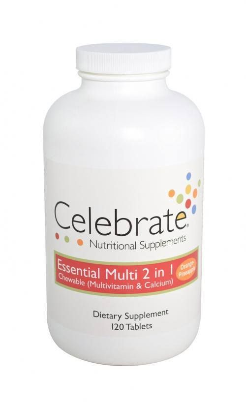 Celebrate Multivitamin with Calcium Citrate 2 In 1 - Chewable