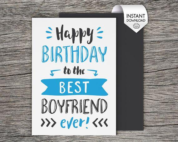 Best 25 Boyfriend birthday cards ideas – Boyfriend Happy Birthday Card