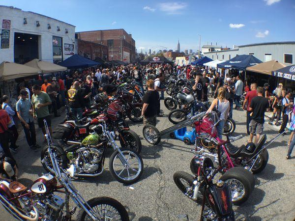 Indian Larry Block Party // Brooklyn | Hot Bike