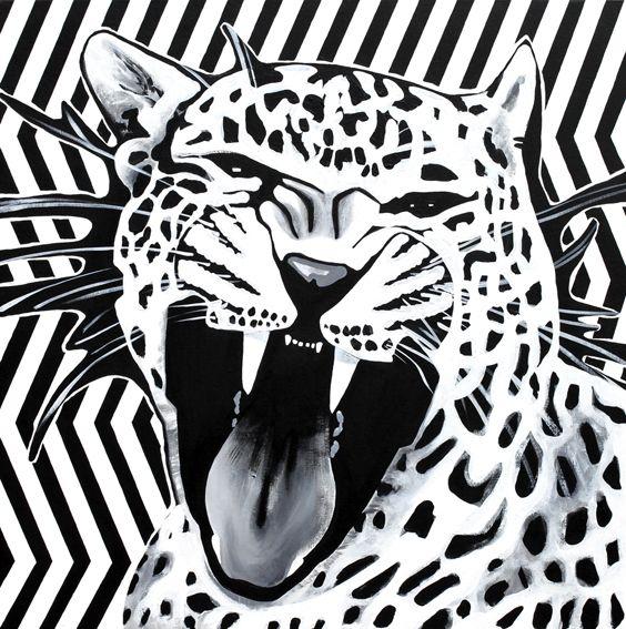 Maciej Zabawa – Acrylic on canvas.
