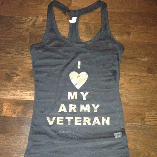 I <3 my army veteran tank