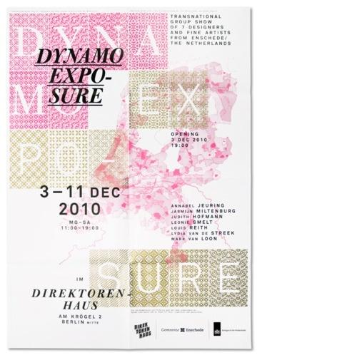 Design Fodder (Dynamo Expo poster by Studio Laucke Siebein.)