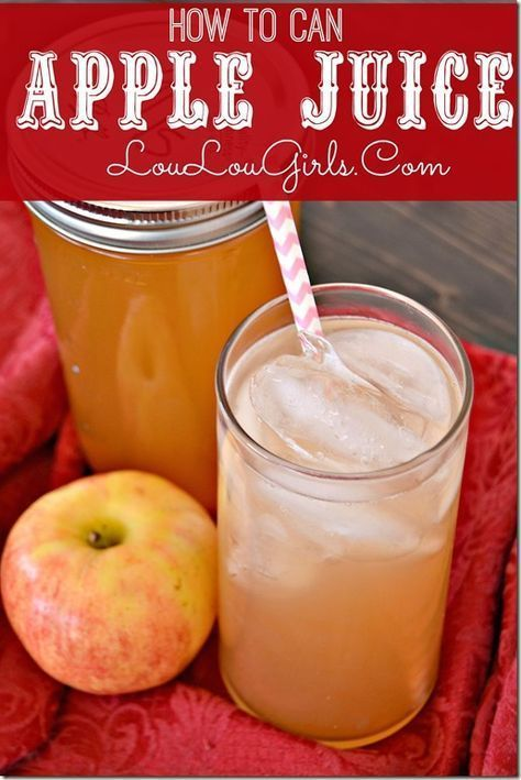 How-To-Can-Apple-Juice-With-An-Electric-Juicer @LouLouGirls : Featured Post on Turn it up Tuesdays