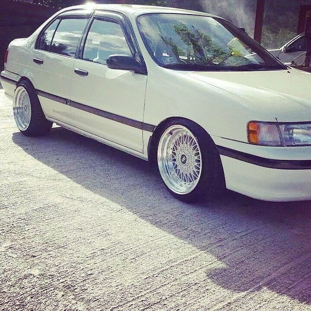 From Guatemala City! Beautiful! This The Family Tercel #tercel #trd #toyota