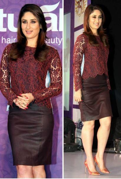 Kareena Kapoor Khan In Carven and DvF | PINKVILLA