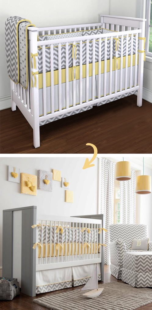 Inspire your soul and make your dream design a reality.  #baby #babysdream #nursery #chevron