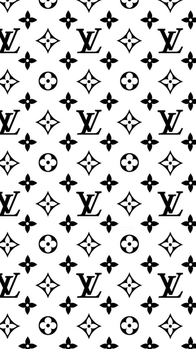 Louis Vuitton Wallpaper Iphone X Louis Vuitton Logo Black And White Www Pixshark Com