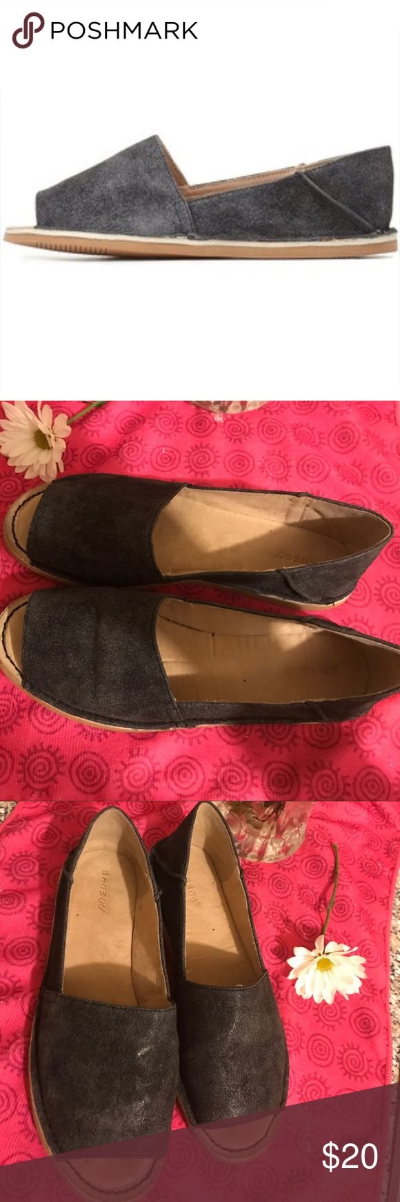 Bamboo peep toe Bamboo peep toe flats. Size 9 super comfy Shoes Flats & Loafers