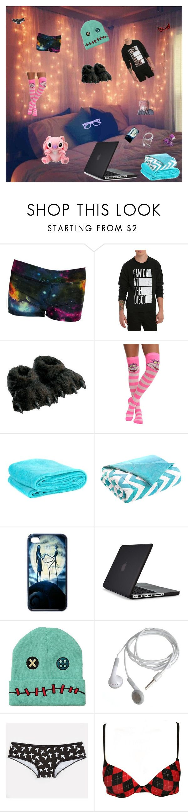 I'm tired and lazy... by xsafehavenx on Polyvore featuring Hot Topic, Disney, Cabela's, Speck, Intelligent Design, Amie and INC International Concepts