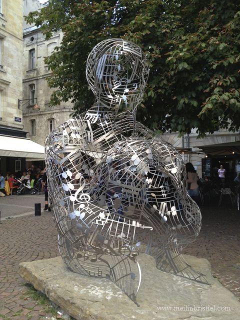 Jaume Plensa in Bordeaux