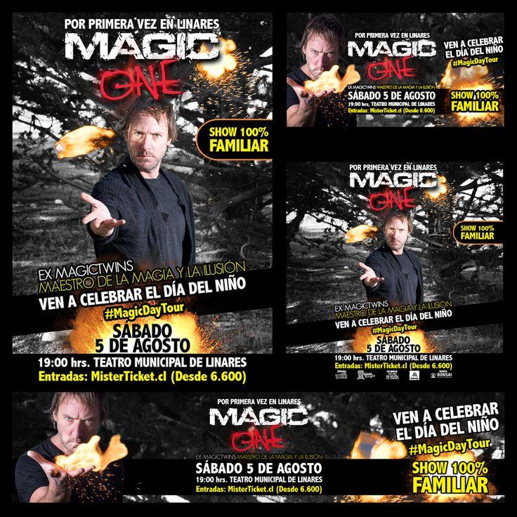 Campaña Fusión OnLine/OffLine para Magic One, Día del Niño.