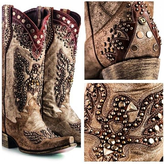 boots normally don't like studs on boots, but I could handle these