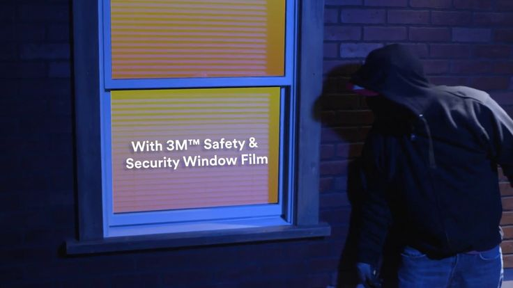 3M™ Safety & Security Window Film - Breaking & Entering Video