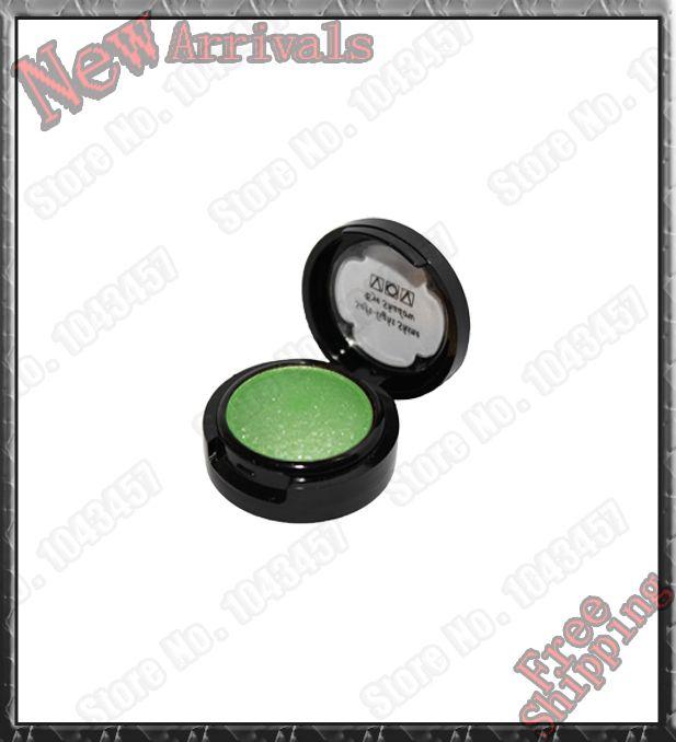 Fashion Cosmetics Brand Nake Eye shadow VOV15 Spring Green Makeup Lustre Pearl Glitter EyeShadow Powder Size Kit