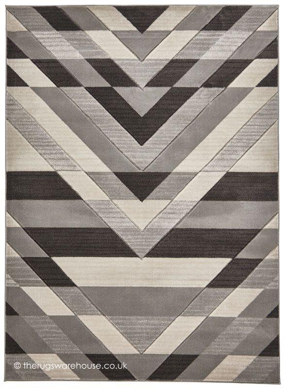 NEW: Sensor Grey Rug, a stylish modern synthetic rug in cream & grey with a geometric design (machine-woven, 100% polypropylene, 3 sizes) http://www.therugswarehouse.co.uk/modern-rugs3/brooklyn-pembroke-rugs/sensor-grey-rug.html