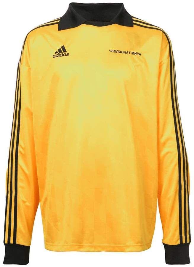 Gosha Rubchinskiy X Adidas Football T shirt Farfetch