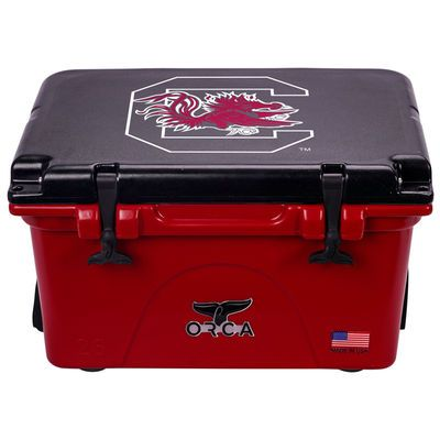 South Carolina Gamecocks 26 Quart Hard-Sided Cooler - Garnet/Black