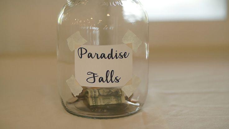 """Up"" Paradise Falls jug"