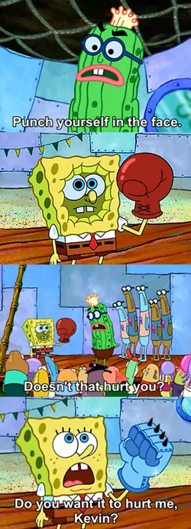 Do whatever it takes to impress the people you want to impress. | The 23 Wisest Things Spongebob Ever Said