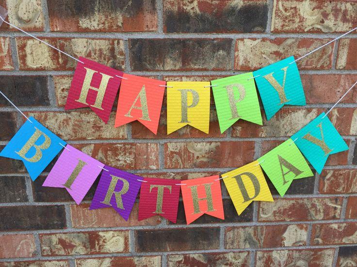 Rainbow Happy Birthday Banner, Custom birthday banner, 1st Birthday Party Decor, Kids Photo Prop, Personalized Banner #babyshowerideas4u #birthdayparty #babyshowerdecorations #bridalshower #bridalshowerideas #babyshowergames #bridalshowergame #bridalshowerfavors #bridalshowercakes #babyshowerfavors #babyshowercakes