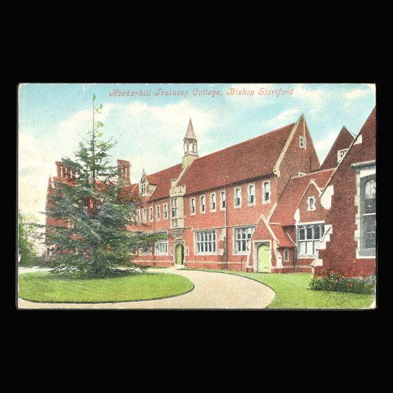 Hockerhill Training College Bishop Stortford by COINSnCARDS
