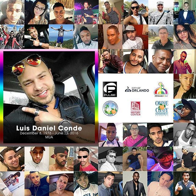 Today in Orlando it has designated as Orlando United Day – A Day of Love and Kindness. --- Today is dedicated to honoring the memory of the 49 innocent Pulse victims, supporting and survivors. --- We want to show our support by honoring their memory and stand united with the survivors. --- On this day last year we lost someone that was part of the MUA family. --- Luis Daniel Conde was an MUA and co-owner of the salon Alta Peluquería D'Magazine with his partner Rivera Velazquez, who was also…