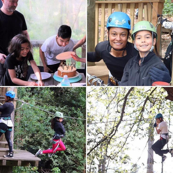Awesome #active day out with my fam celebrating our son's birthday. #fitfam #fitstagram #treesadventurebelgrave
