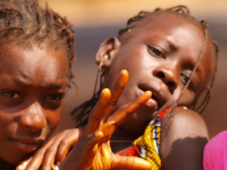 Young girls in Senegal