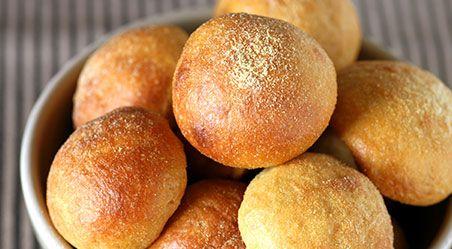 小麦粉を使わず大豆粉を使った食べやすく飽きのこないパンです。