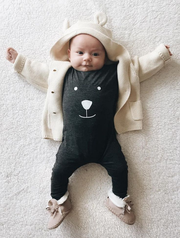 Unisex Bear Romper | AnchoreDeep on Etsy