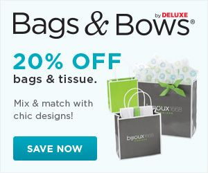 CYBER MONDAY offer from Bags & Bows!