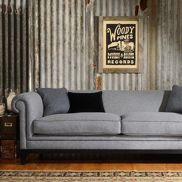Supreme comfort and ultimate style combine in the Tetrad Duncombe sofa range #sofa #grey #home